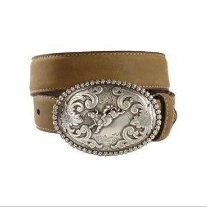 Nocona cowboy belt